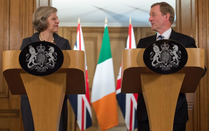 BRITAIN-IRELAND-POLITICS-DIPLOMACY-BREXIT